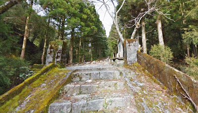 The remnants of Kosugidani settlement, Yakushima