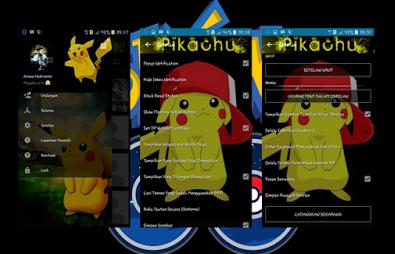 BBM MOD Tema Pokémon GO Pikachu V.2.13.1.14 APK Terbaru