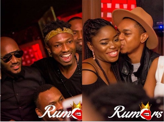 #BBNaija: Official photos of all the Housemates' first party in Rumours VI