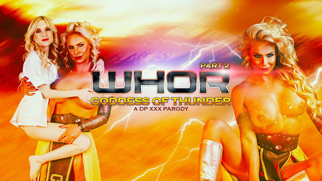 Whor Goddess of Thunder, A DP XXX Parody Part 2 [HD]