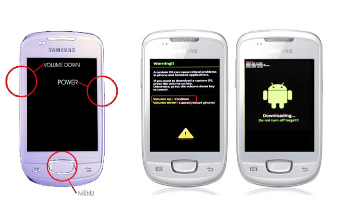 Cara Pasang CWM Pada Samsung Galaxy Mini GT-S5570