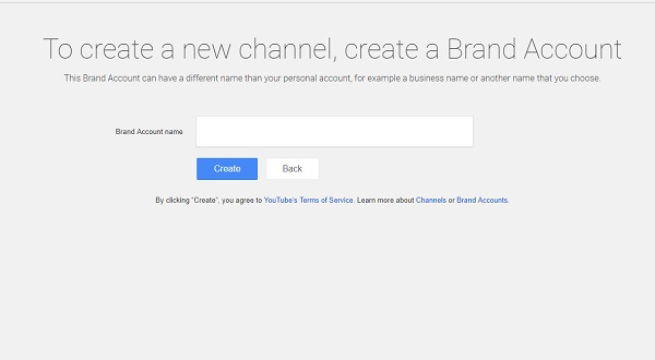 Step 2 - Make A YouTube Channel