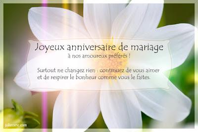 joyeux anniversaire de votre mariage