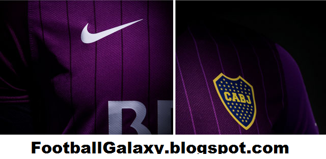sports shoes 991b1 5d766 Ladies Purple Nike Boca Juniors 2013-2014 Jersey Violet kit ...