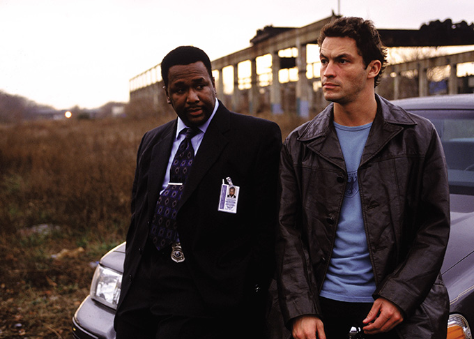 Dominic West y Wendell Pierce son los protagonistas policiales de The Wire