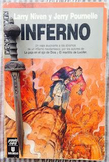 Portada del libro Inferno, de Larry Niven y Jerry Pournelle