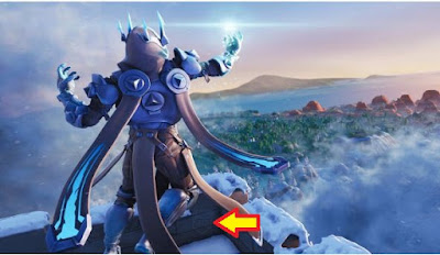 Fortnite, Unlock Loading Screen, Week 8, Season 7, Ice King