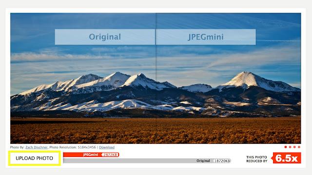 JPEGmini로 사진 파일 크기 줄이기