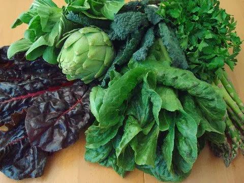 green leafy recipes