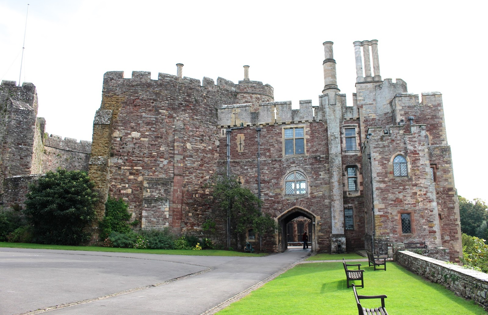 Canon visitor photography of Berkeley Castle