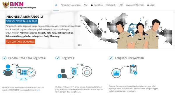 Rekrutmen CPNS dan PPPK 2019 Kalimantan Barat