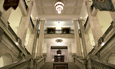 Alberta Legislature Building Interior Edmonton