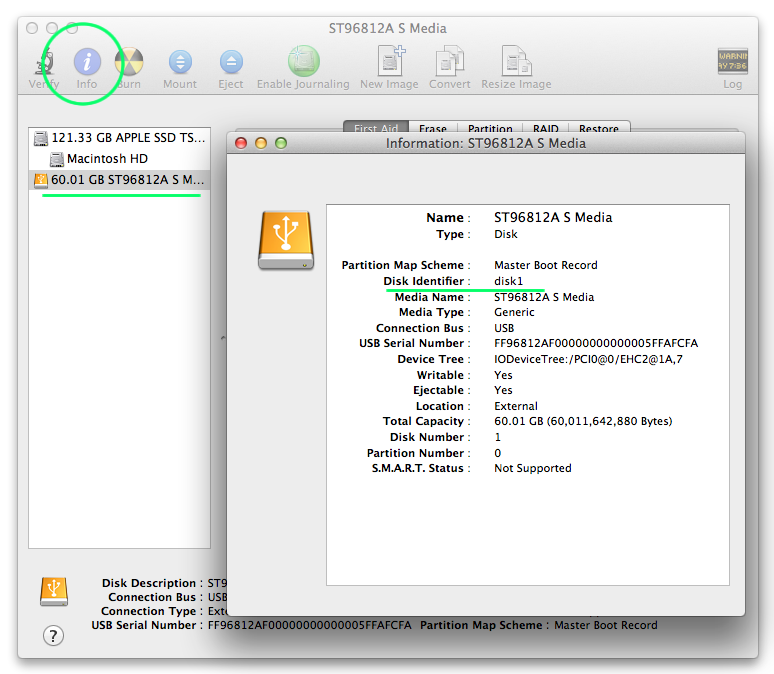 TechReminders: Add physical disk to VMware Fusion guest OS