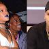Chris Brown comes for Rihanna's boyfriend, Travis Scott