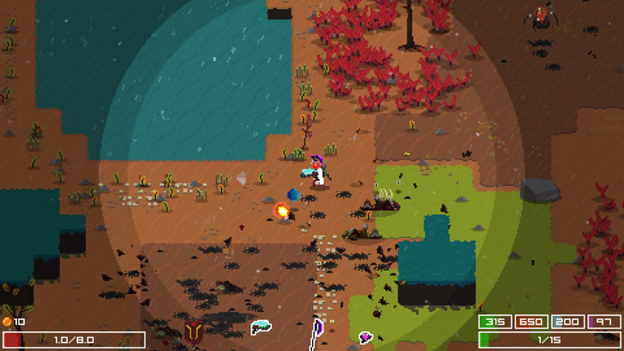 thumbnail screenshot indie game Planetary Dustoff