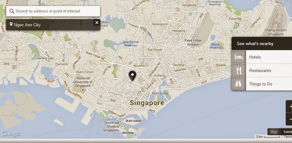 Ngee Ann City Singapore Location Attractions Map,Location Attractions Map of Ngee Ann City Singapore,Ngee Ann City Singapore accommodation destinations hotels map reviews photos pictures