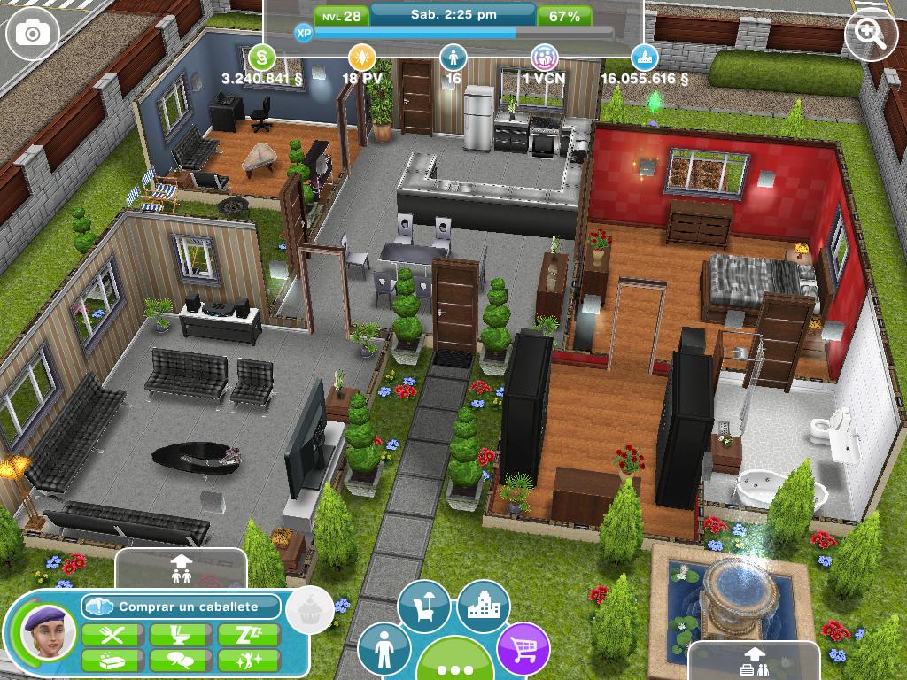 Fotos de las casas que se compran con pv for Planos de casas sims