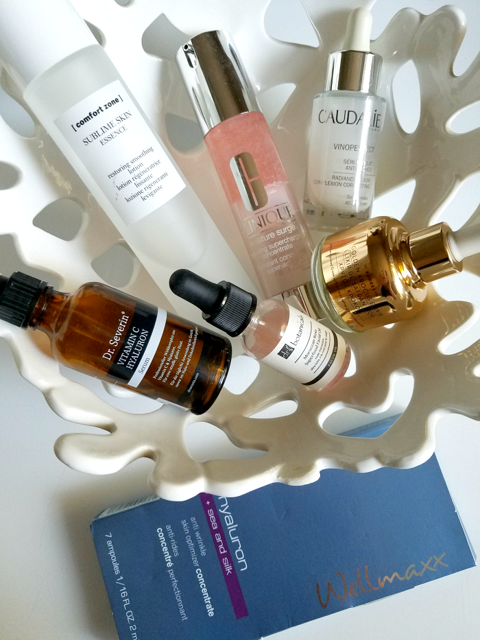 Skincare Favorites 2017 - Essence, Serum & Face Oil - Clinique, Korres, Caudalie, Wellmaxx, Comfort Zone, Dr Severin,dr botanicals, Isabelle Lancray