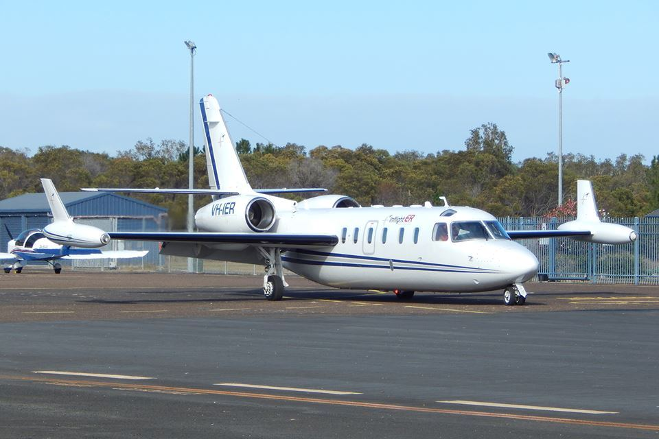 A Israel Aircraft Industries 1123 Westwind