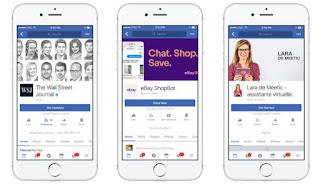 ماسنجر فيس بوك تصبح أكثر جاذبية للعلامات التجارية