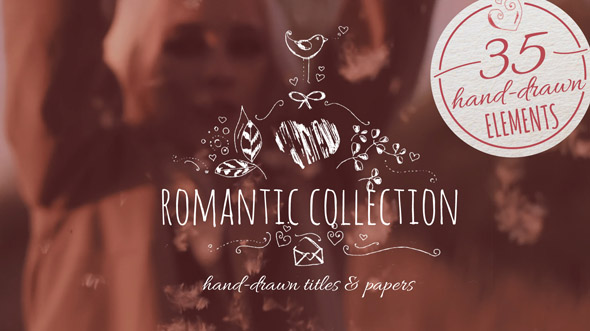 preview_590 VIDEOHIVE ROMANTIC COLLECTION HAND-DRAWN TITLES download