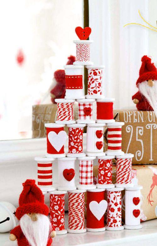 El mundo del reciclaje detalles de navidad con material for Detalles de navidad