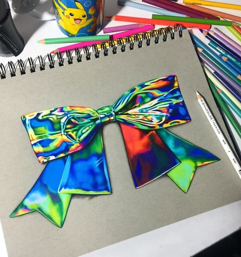 06-Bow-Jenna-Very-Vivid-Colors-in-Varied-Drawings-www-designstack-co