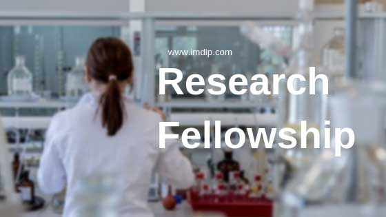 Research opportunities for pharmacists, research fellowship opportunity after M.Pharm