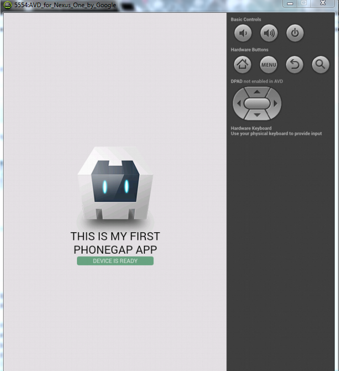 Phonegap con android studio app