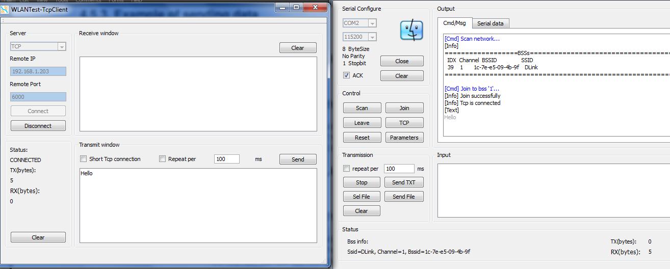 TechnoLabsz: Working with LinkSprite UART-Wifi Module