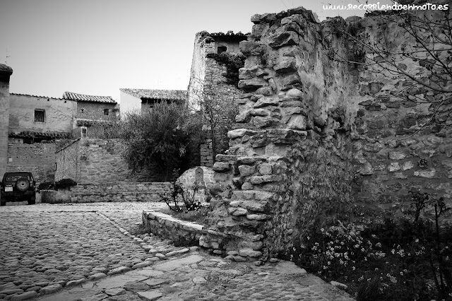 restos del castillo de Mirambel