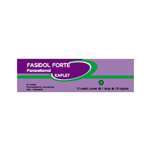 Fasidol Forte : Paracetamol 650 mg Kaplet
