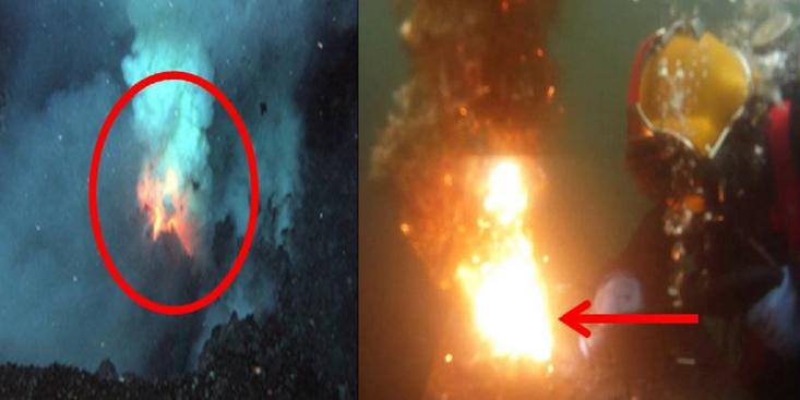 Allahu Akbar, Fakta Api di Bawah Laut Bukti Kebenaran Al-qur'an