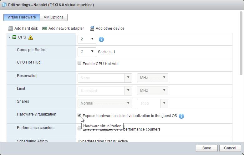 How to deploy Windows Nano Server on vSphere – Microsoft Geek