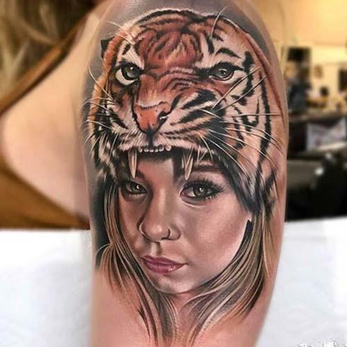 kadın omuz dövmeleri woman shoulder tattoos 7