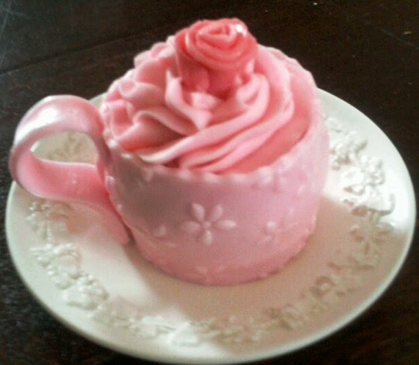 AimeeJo Desserts: Tea Cup Cupcakes For Lori Edwards