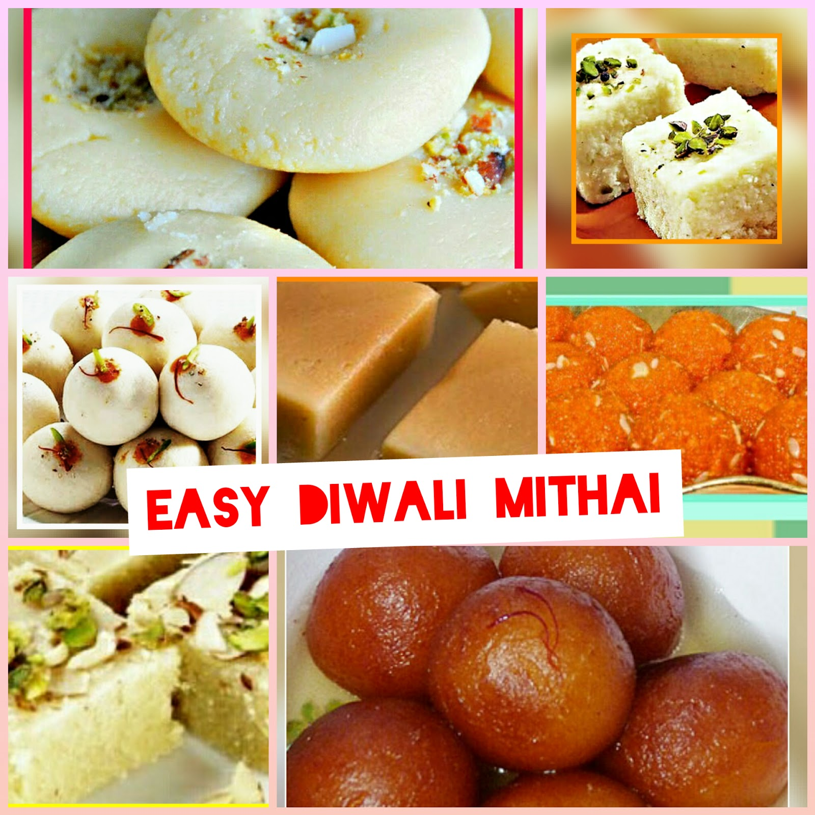 Easy Diwali Mithai - 99Advice for Deepavali Celebration Food  143gtk