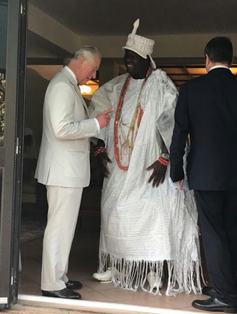 Ooni of Ife, Sultan of Sokoto, Others meet Prince Charles (Pics)