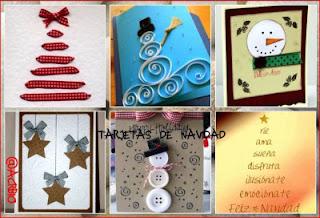 Manualidades Para Ninos Sencillas Tarjetas De Navidad Para Hacer En - Manualidades-sencillas-navidad