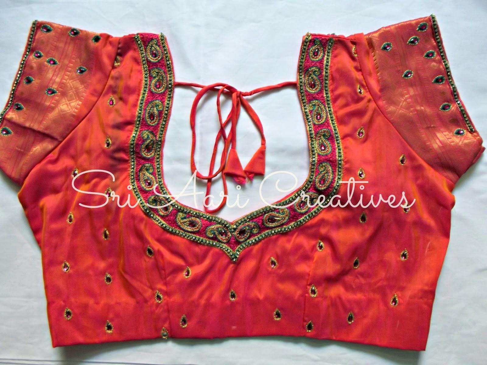 Sri Aari Creatives Designer Blouses Aari Work Bridal