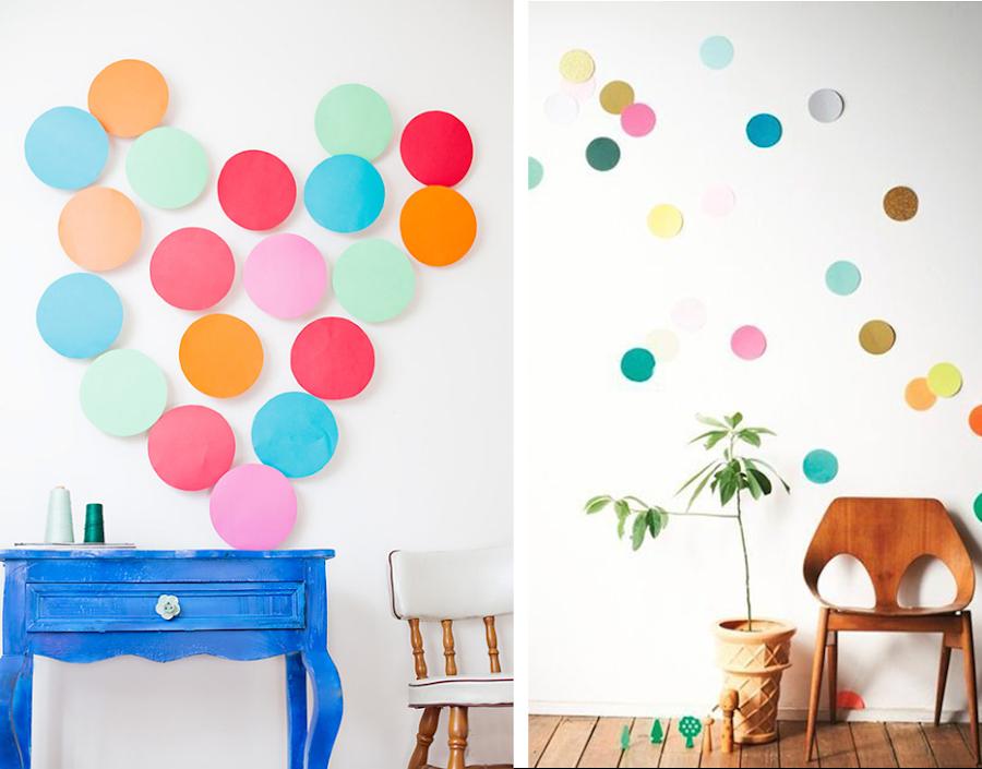 8 ideas lowcost para decorar las paredes  Decoracin