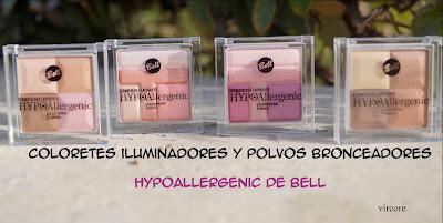 hypoallergenic polvos e iluminadores