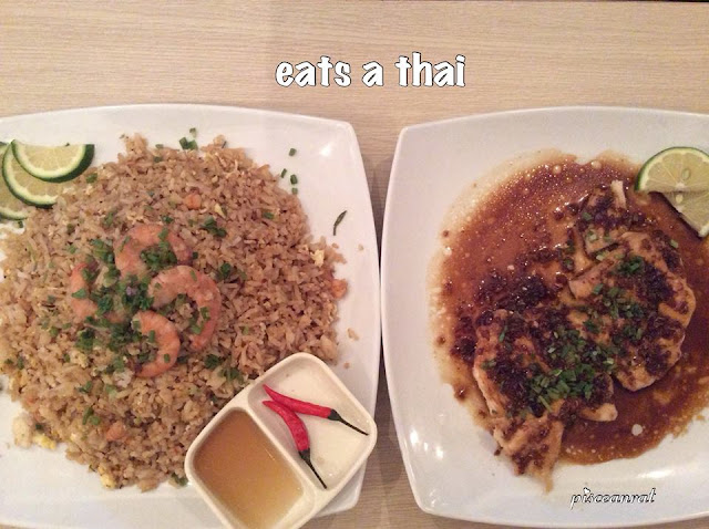 Eats A Thai- Khao Pad and Thai Chicken Breast