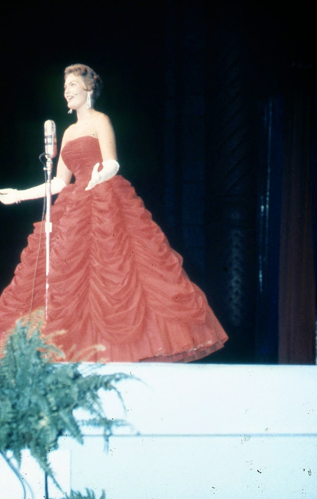 Rare Color Photographs Of The 1957 Miss America Pageant In