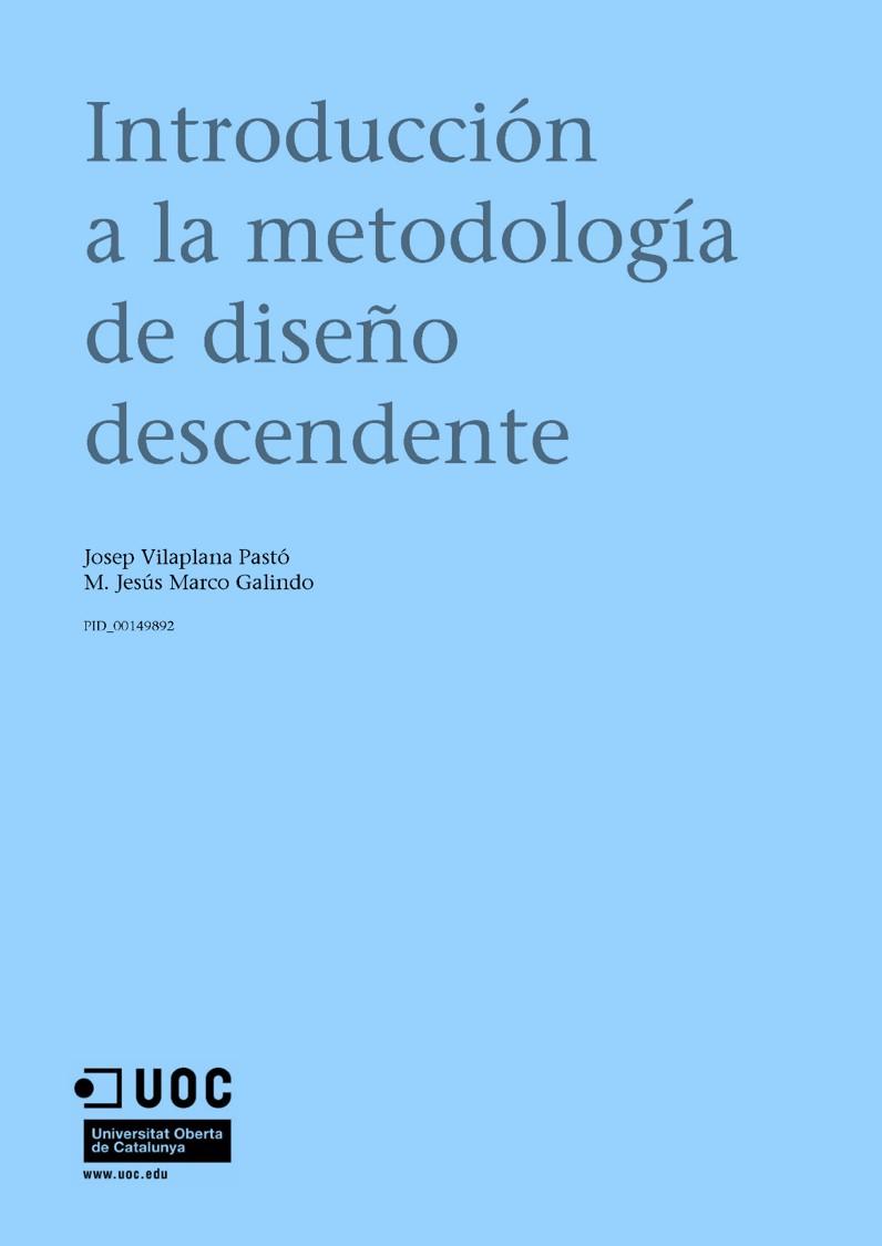 Introducción a la metodología de diseño descendente
