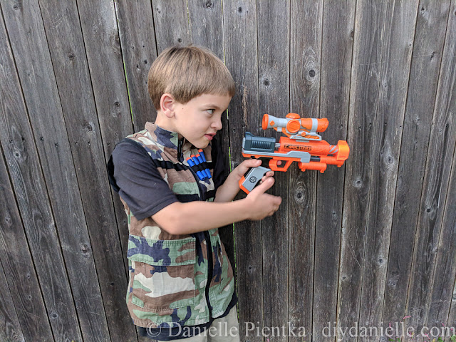 DIY Nerf Vest for Kids