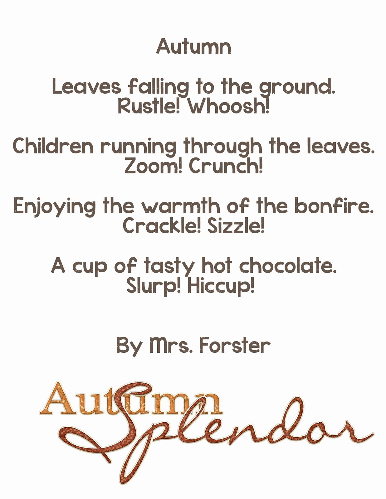 medium resolution of Onomatopoeia Poems For Grade 5