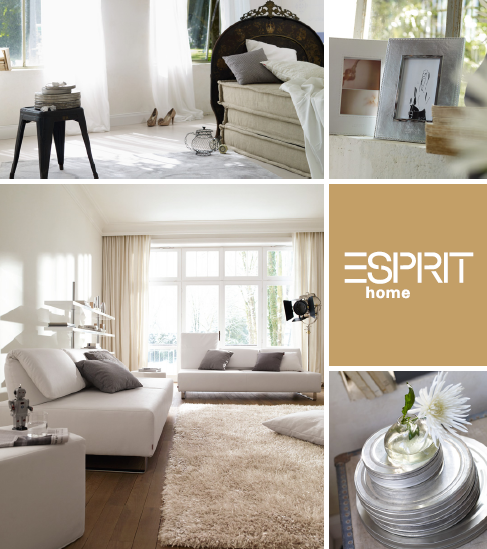 gold cage esprit home collection 2011
