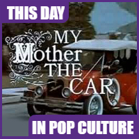 """""""My Mother the Car"""" debuted on September 14, 1965."""