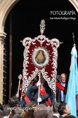 Estandarte Cofradía Virgen de la Cabeza Mengíbar